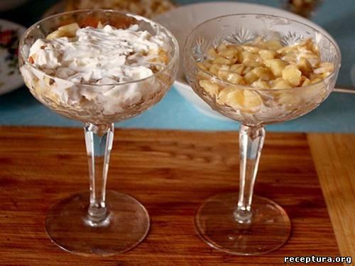 Мороженое с грушей