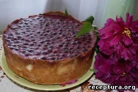 Ягодный пирог аля чизкейк